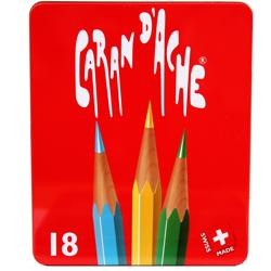 Lápis Aquarelável Caran D'Ache RED