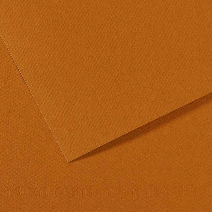 Papel Mi-Teintes Canson 502 50x65cm Havana Claro