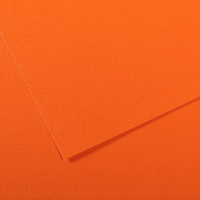 Papel Mi-Teintes Canson 453 50x65cm Laranja