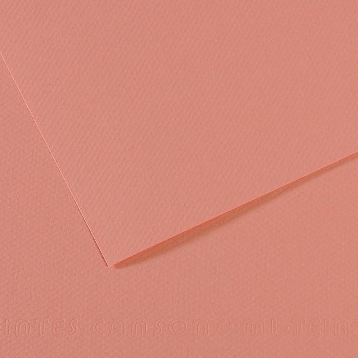 Papel Mi-Teintes Canson 352 50x65cm Rosa Carmim
