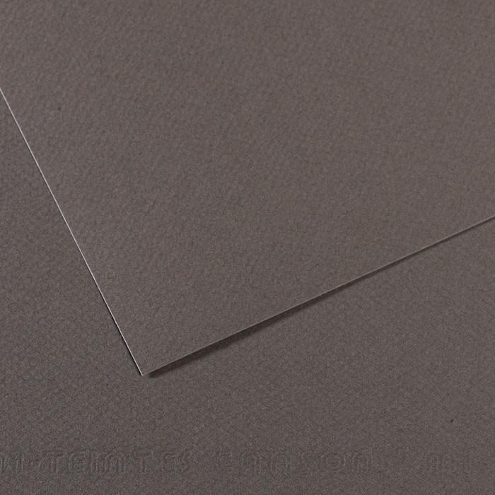 Papel Mi-Teintes Canson 345 50x65cm Cinza Ardózia