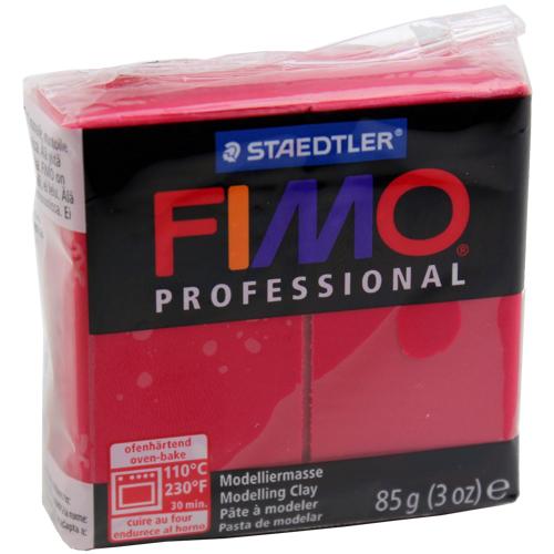 Massa Fimo Professional 85g Carmim