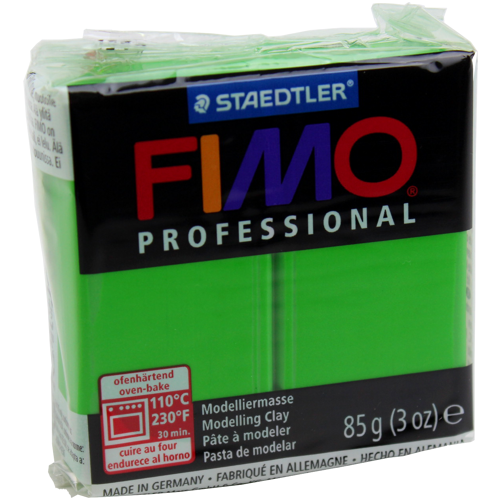 Massa Fimo Professional 85g Verde Sap
