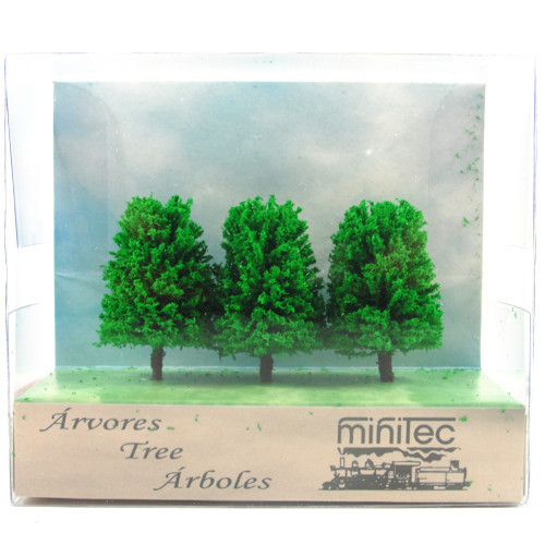 Árvore Para Maquete Minitec 03 Peças 772
