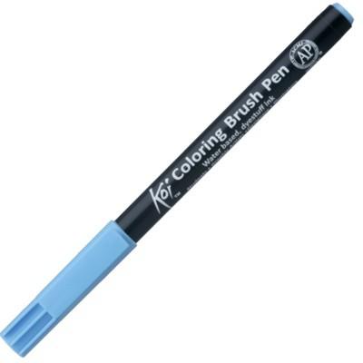 Caneta Sakura Brush Pen 137 Aqua Blue