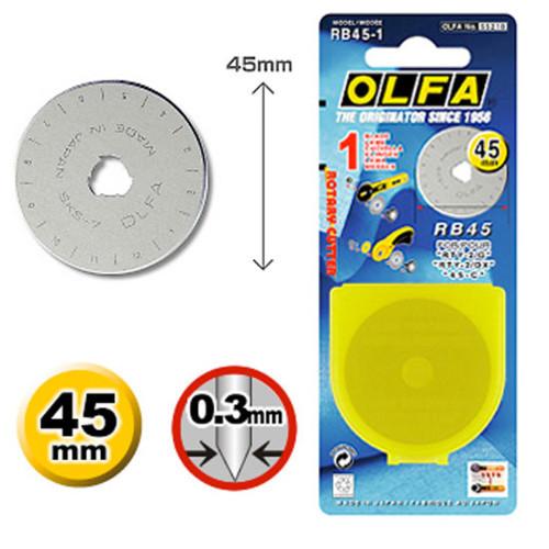 Lâmina Olfa RB 45-1
