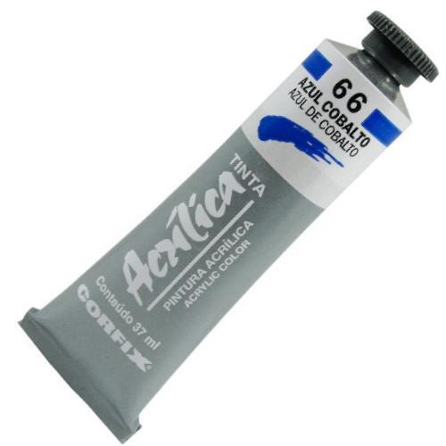 Tinta Acrílica Corfix 37ml 066 Azul Cobalto