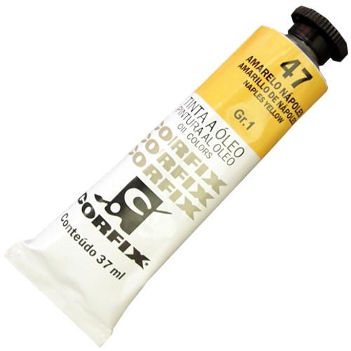Tinta a Óleo Corfix 37ml 047 Amarelo Nápoles G1