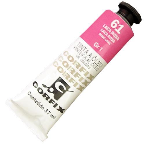 Tinta a Óleo Corfix 37ml 061 Laca Rosa G1