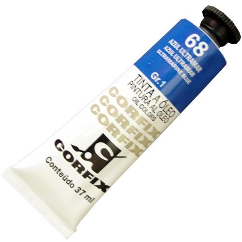 Tinta a Óleo Corfix 37ml 068 Azul Ultramar G1