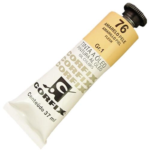 Tinta a Óleo Corfix 37ml 076 Amarelo Pele G1