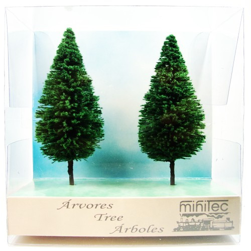 Árvore Para Maquete Minitec 02 Peças 769