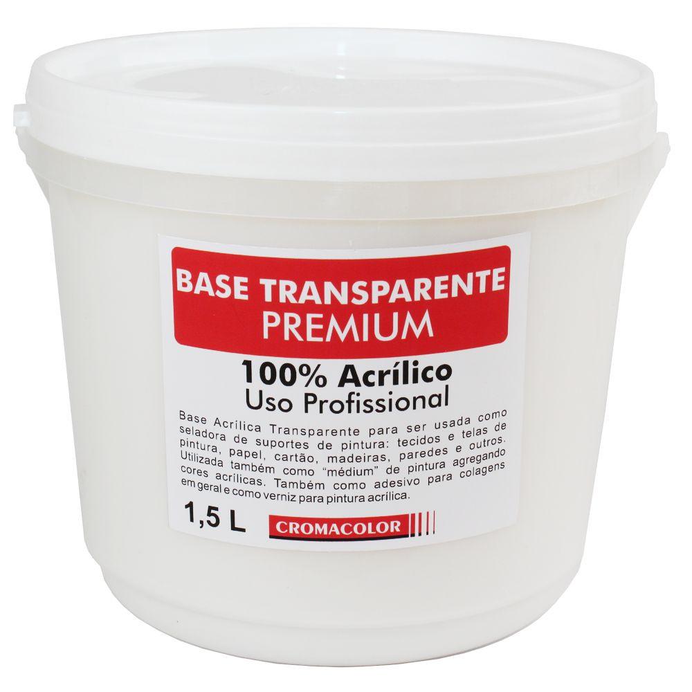 Base Premium Transparente Cromacolor 1,5L