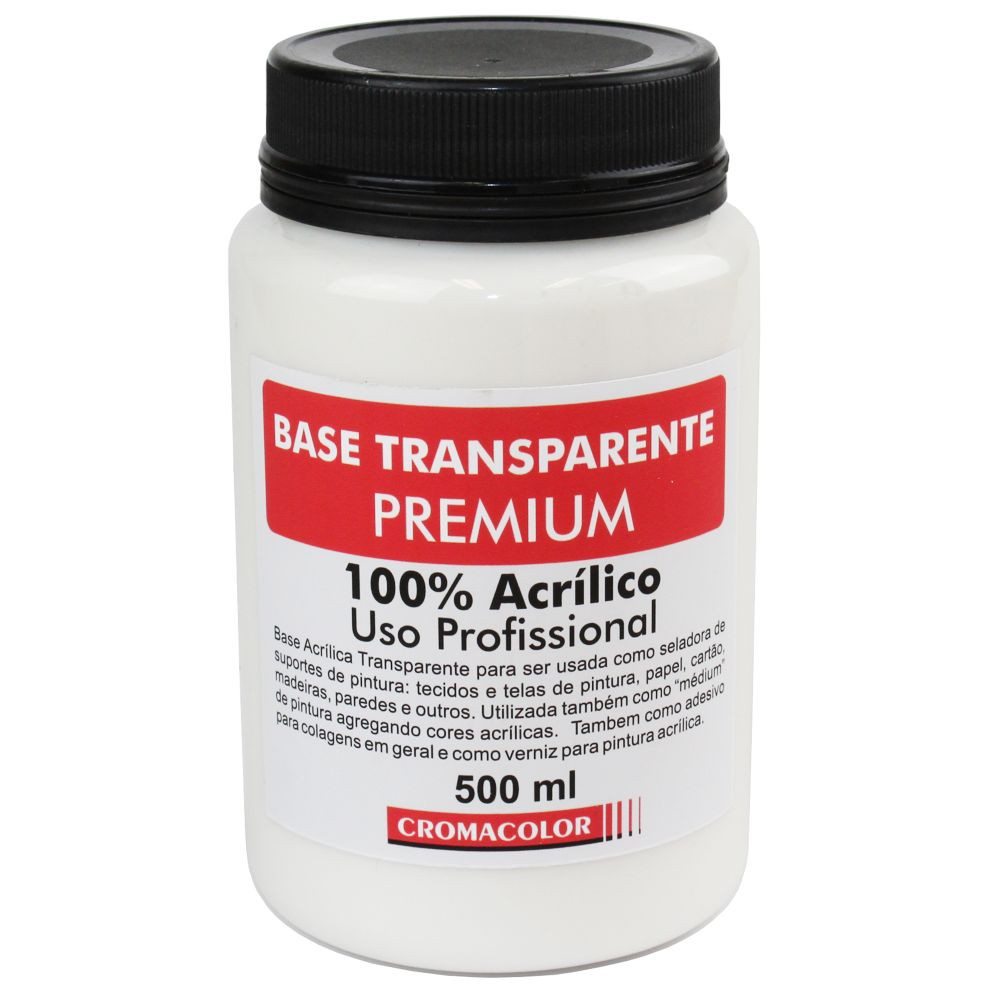 Base Premium Transparente Cromacolor 500ml