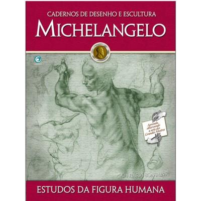Caderno de Desenho e Escultura MICHELANGELO