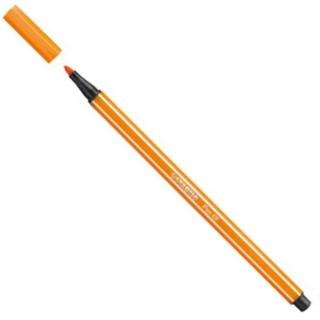 Stabilo Pen Caneta 68 54 Amarelo Escuro