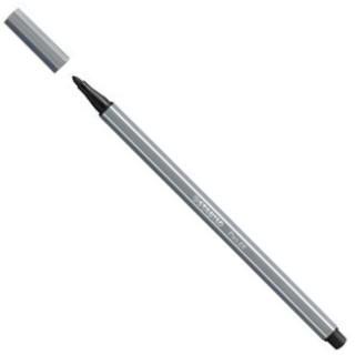Stabilo Pen Caneta 68 96 Cinza Escuro