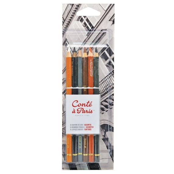 Kit de Lápis Conté à Paris 50106 Crayon
