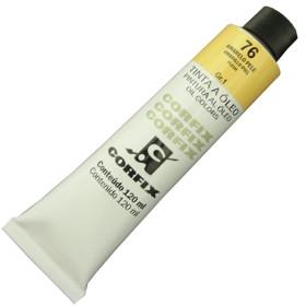 Tinta a Óleo Corfix 120ml 076 Amarelo Pele G1