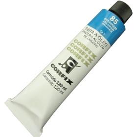 Tinta a Óleo Corfix 120ml 085 Azul Cerúleo G1