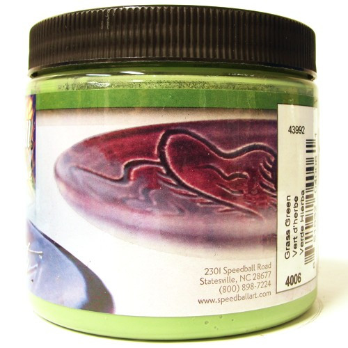 Esmalte Para Cerâmica Glaze Speedball 4006 Grass Green
