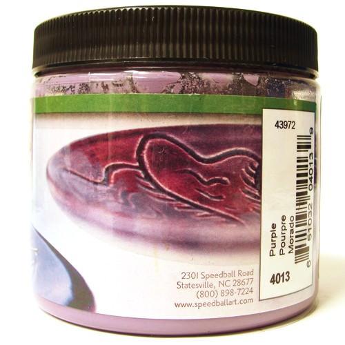 Esmalte Para Cerâmica Glaze Speedball 4013 Purple