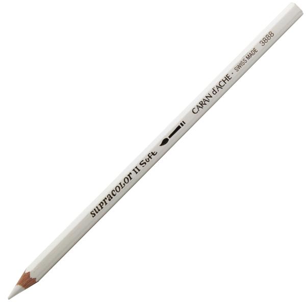 Lápis Supracolor CARAN d'ACHE 001 White