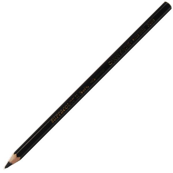 Lápis Supracolor CARAN d'ACHE 009 Black