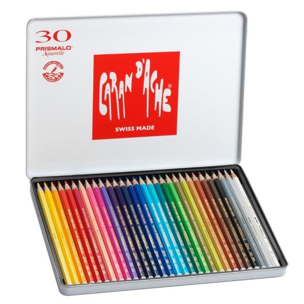 Lápis Prismalo Caran D'Ache 30 Cores