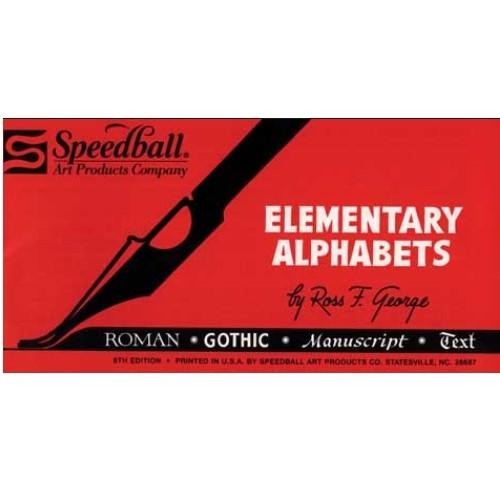 Livro de Caligrafia Elementary Alphabets Speedball