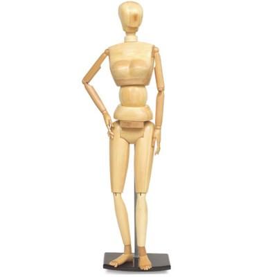 "Boneco Articulado 1,75m ""Adulto"" Feminino"