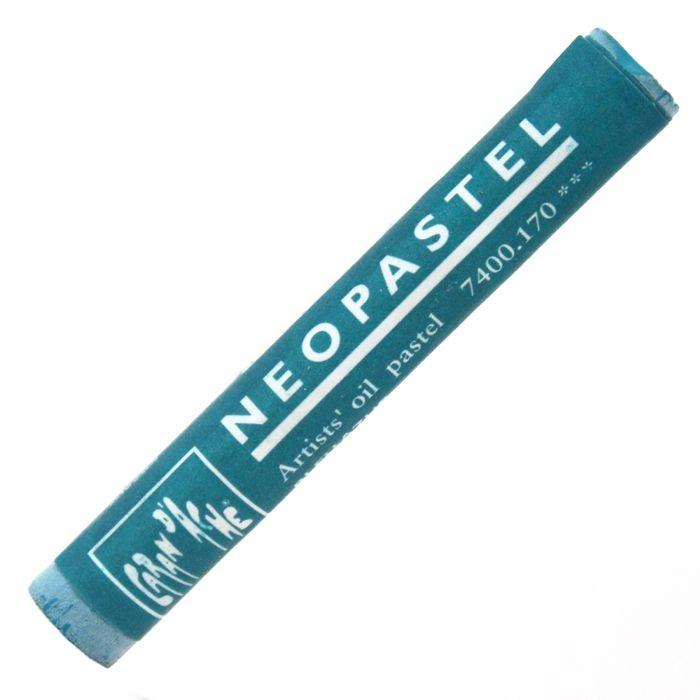 Neopastel Caran d'Ache 170 Azurite Blue