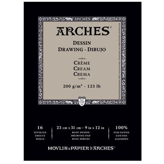 Papel Para Desenho Arches Creme