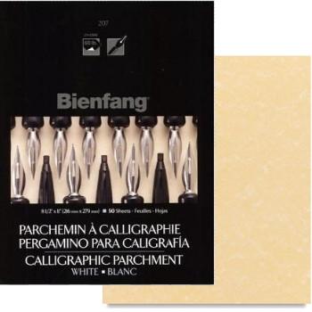 Papel Para Caligrafia Pergaminho Ouro