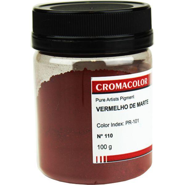 Pigmento Artístico Cromacolor 110 Vermelho de Marte 100G