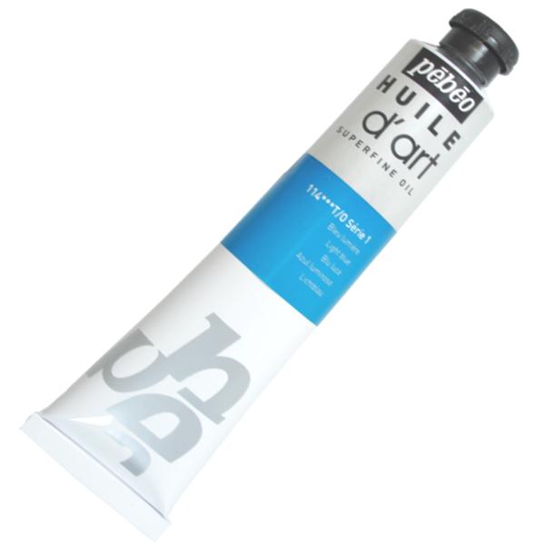 Tinta a Óleo Pébéo Huile D'Art 114 Azul Luminoso