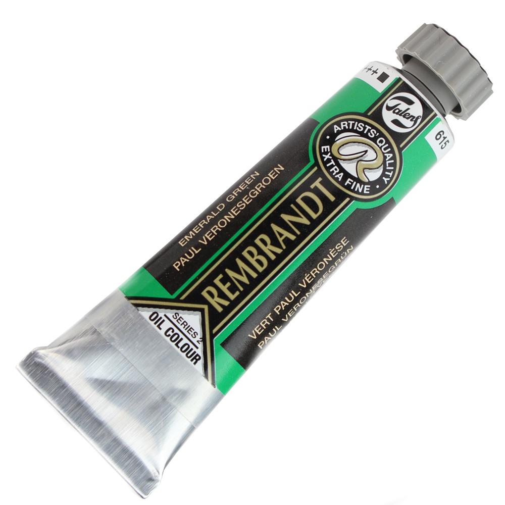 Tinta a Óleo Rembrandt 15ml 615 Emerald Green – G2
