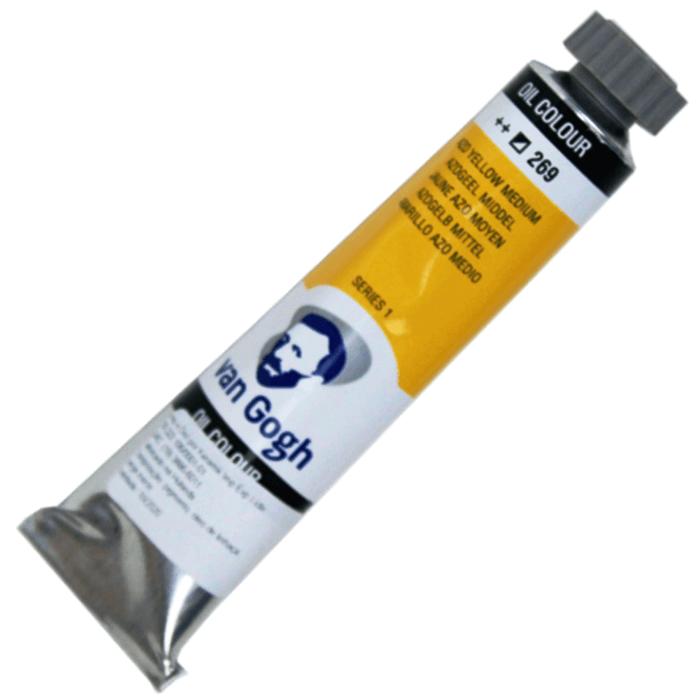 Tinta a Óleo Van Gogh 20ml 269 Azo Yellow Medium