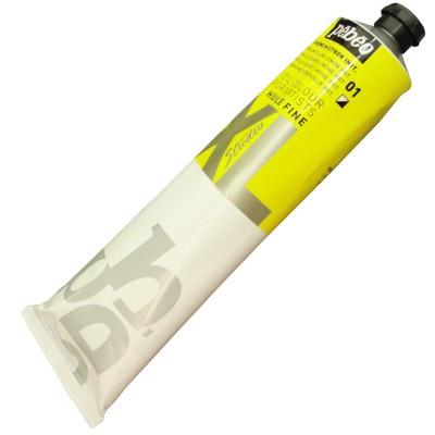 Tinta a Óleo Pébéo 200ml 01 Amarelo Cádmio Limão