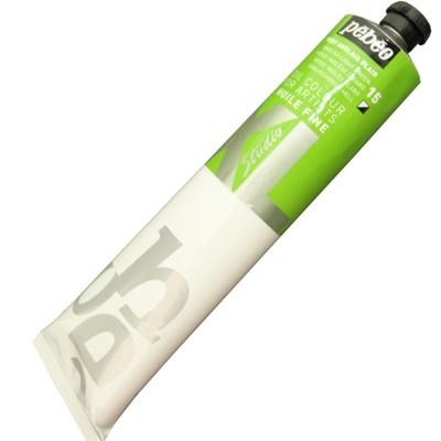 Tinta a Óleo Pébéo 200ml 15 Verde Inglês Claro