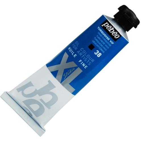 Tinta Óleo Pébéo XL 37ml 38 Azul Turquesa