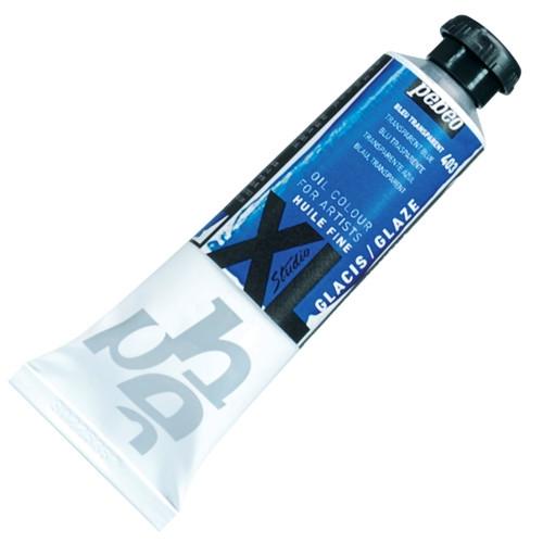 Tinta Óleo Pébéo XL 37ml 403 Azul Transparente