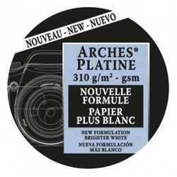 Papel Arches Platine