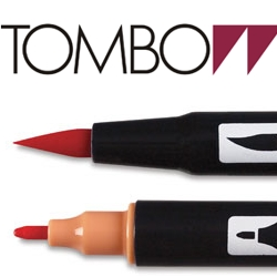 Caneta Dual BRUSH Tombow