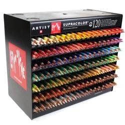 Lápis Supracolor CARAN d'ACHE 120 Cores Avulsas