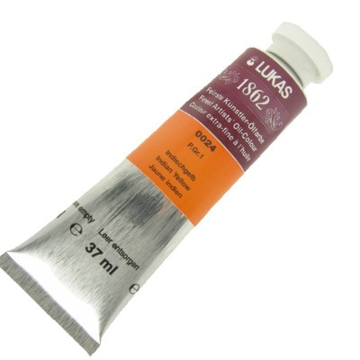 Tinta a Óleo Lukas 1862 37ml 0024 Indian Yellow G 1