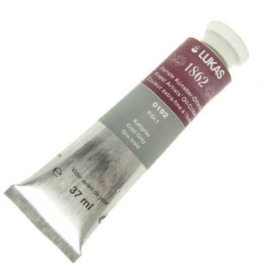 Tinta a Óleo Lukas 1862 37ml 0192 Cold Grey G 1