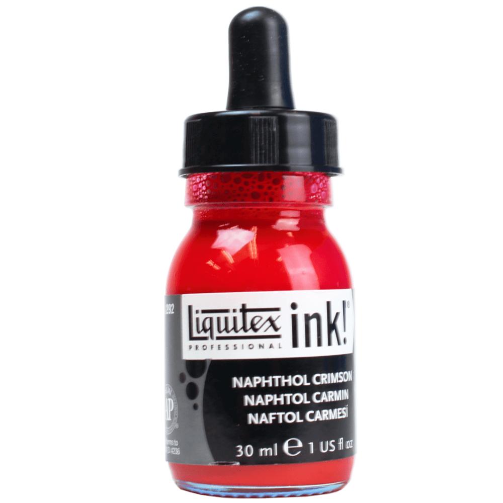Tinta Acrílica Líquida 30ml Liquitex Naphthol Crimson 292
