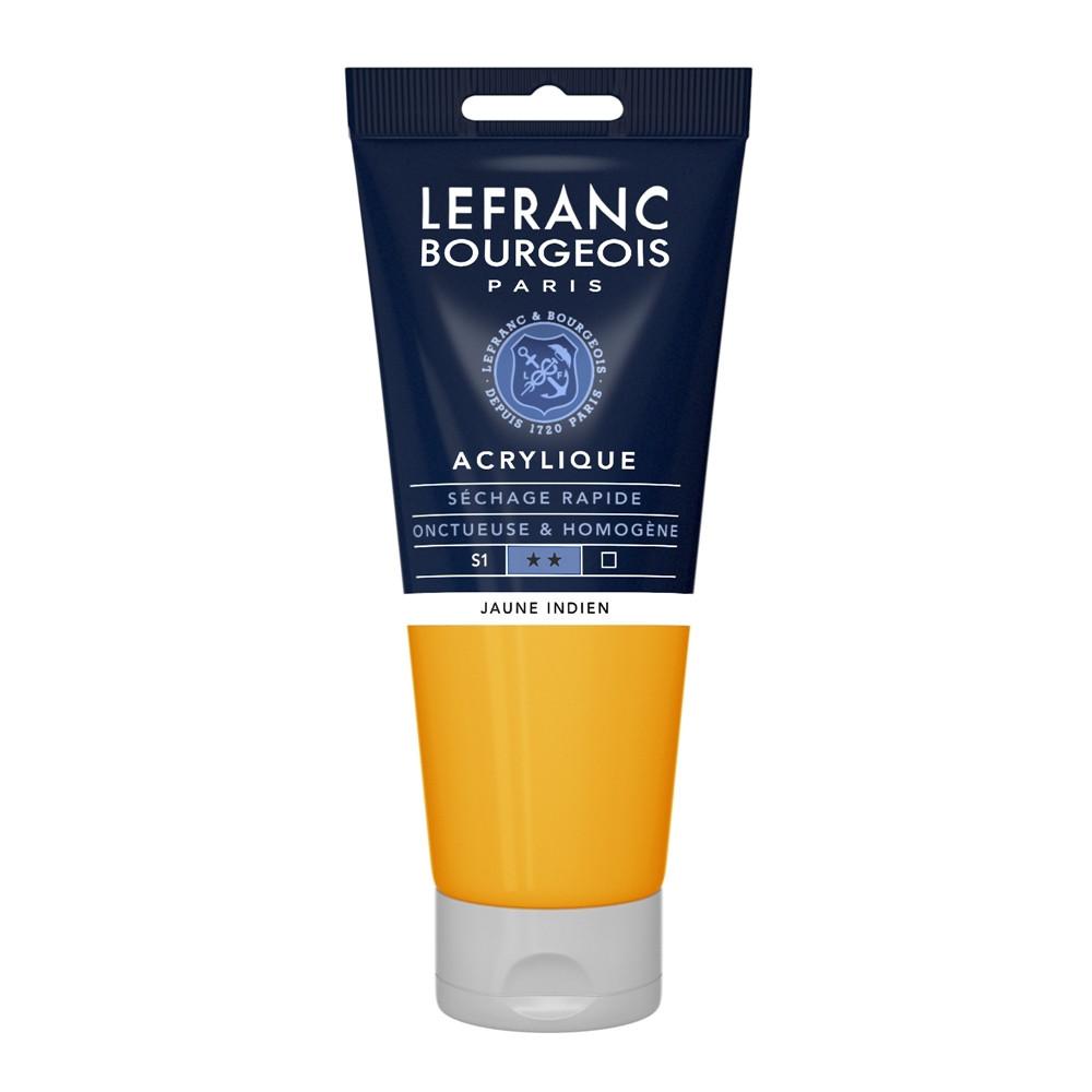Tinta Acrílica Lefranc & Bourgeois 200ml 212 Indian Yellow