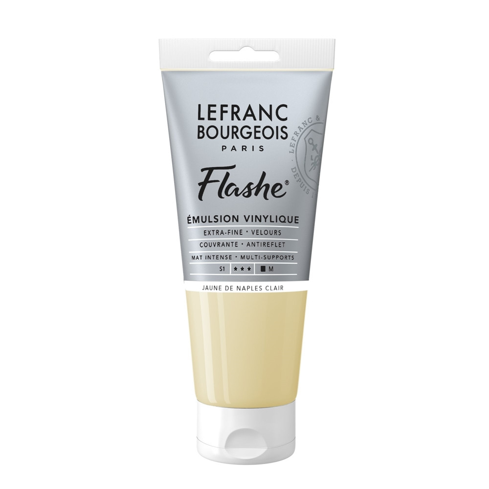 Tinta Acrílica Flashe Lefranc & Bourgeois 80ml S1 887 Naples Yellow Light